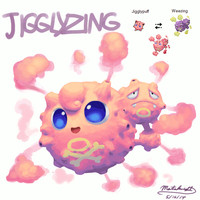 Pokemon Fusion - Jigglyzing