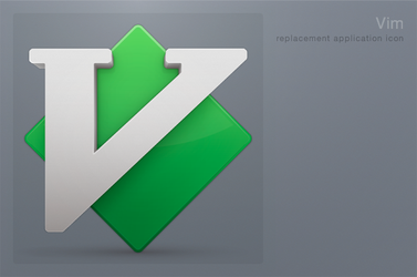 Vim Icon by 1024jp