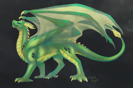 Proud Dragon by UndyingSong