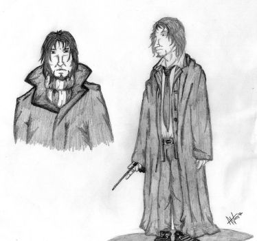 Snape #4 by EvilSeverus