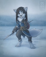 Arctic wanderer by TheTundraGhost