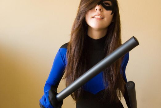 Nightwing Cosplay #3 by surfingthevoiid