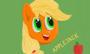 Applejack on 3DS by Picardy-Third