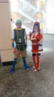A-Kon 29 - Nils and Lilina by Sonic-Dude444