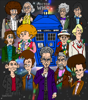 Commissioned Doctor Who Poster by tard15