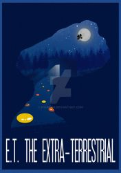 The Many Faces of Cinema: ET The Extra-Terrestrial by Hyung86