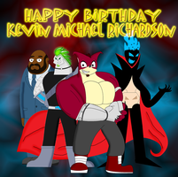 Happy Birthday, Kevin Michael Richardson by Cyber-murph
