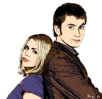 Doctor Who: Mr. Adorkable + 1 by jagwriter78