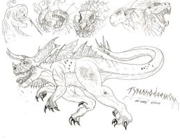 Tyrannodaemon by RenDragonClaw