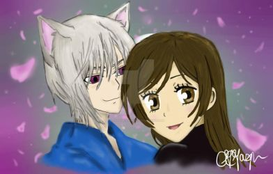 Tomoe and Nanami by Though-I-Walk