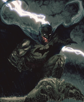 The Dark Knight Reigns Color by arissuparmanart