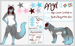 [COMM]: Angel Ref Sheet by ChocolateQuill