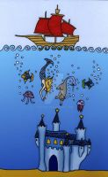 The Sea Palace by eugeal