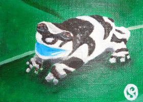 365DCCDay45 Amazon Milk Frog by soarts