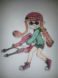 Candy the Inkling by Sweettooth5505