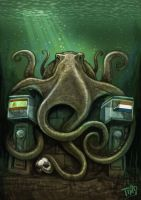 Paul the Psychic Octopus by TmoeGee