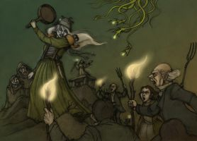 Hopeless, Maine RPG - Combat chapter cover-colours by CopperAge