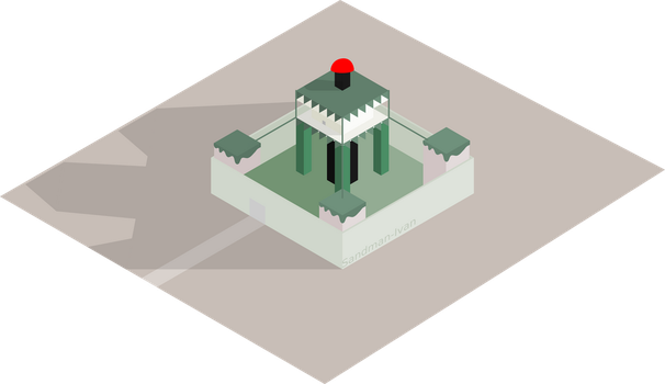 Isometric New Darocy by Sandman-Ivan