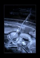 C23: Ice Abstract by fragilemuse-org