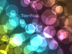Coloured Bubbles Wallpaper by Too-Fast