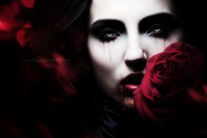 Blood And Roses III by SamBriggs