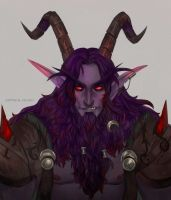 Warcraft Satyr by AntheiaVaulor