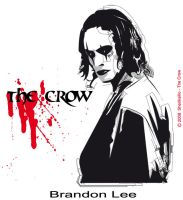 The Crow-Brandon Lee by sheriksillo
