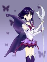 Eternal Sailor Saturn by banachana