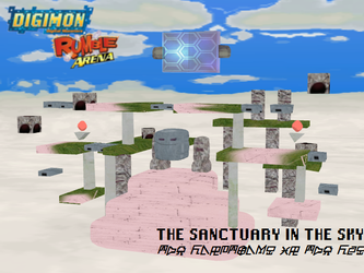 Digimon Rumble Arena: The Sanctuary in the Sky by Gale-Kun