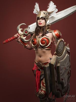 The Sun always rises! - Valkyrie Leona Cosplay by TineMarieRiis