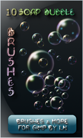 10 Soapy Gimp Bubble Brushes by el-L-eN