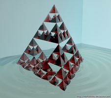 Sierpinski Pyramid by YesThisIsMe