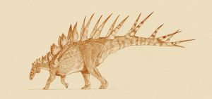 Kentrosaurus by Kahless28