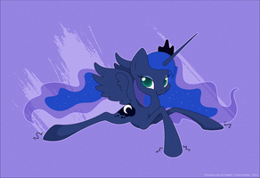 Princess Luna by AutumnDeer