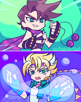 Battle Tendency!! by WatermelonOwl