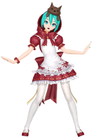 MMD Dreamy Theater Extend: Little Red by MisakiGalhardo