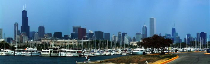 Chicago Boats and Buildings by kellylynn