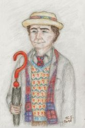 Seventh Doctor by ilwin