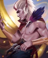 Rakan - League of Legends by Toniji-Arts