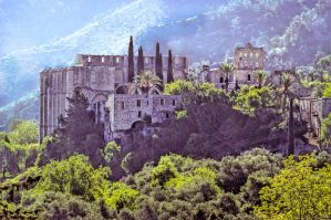 Northern Cyprus: Bellapais Abbey by zeitspuren