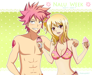 Nalu Week .:Summer Time:. by Inspired-Destiny