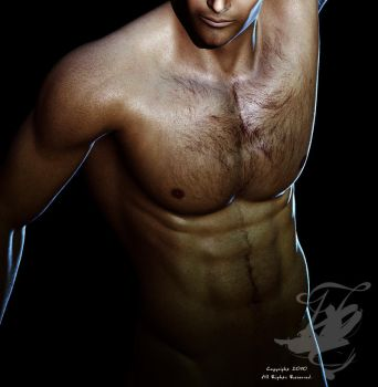 Male Torso 2 by nocturnalcuriosities