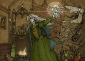 Magic chapter cover for the Hopeless, Maine RPG by CopperAge