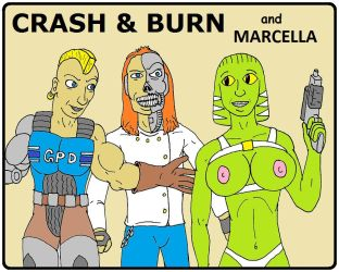 Crash and Burn with Marcella by backerman