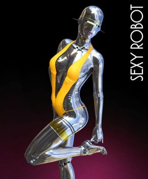 Sexy Robot by RenderHub