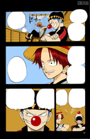 One Piece - Shanks and Buggy by Ikukihiko
