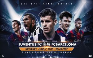 UEFA Champions League Final Matchcard by AlbertGFX