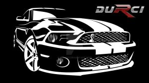 Mustang_toon by DURCI02