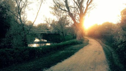 Nidda flows - Years first sun by MissLollipop86