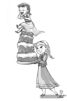 Disney-Frozen Cake baker by ChiehChen